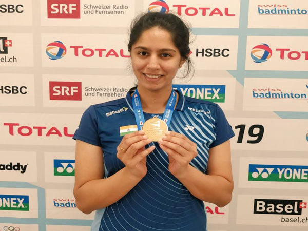 Para-Badminton player Manasi Joshi (Photo/ Manasi Joshi Twitter)