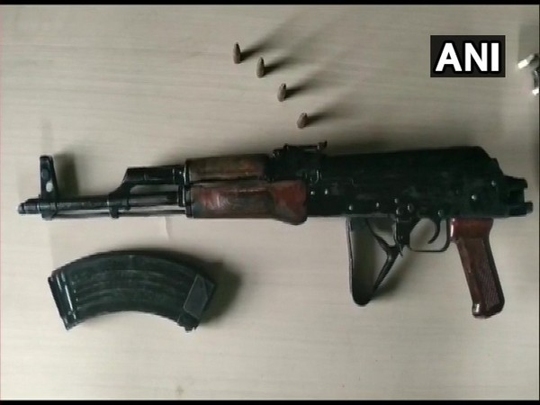 AK-47 rifle was recovered from the residence of MLA Anant Singh on Friday. Photo/ANI