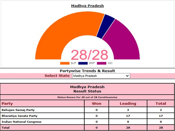 MP by-polls. Photo/ECI