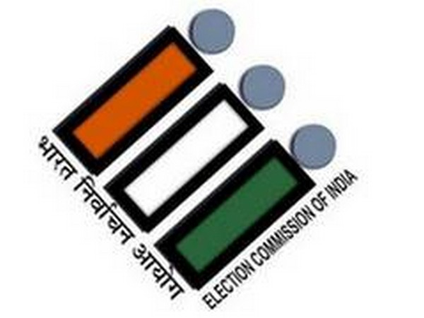 Election Commission of India's logo.