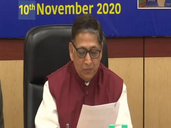 ECI Secretary-General Umesh Sinha (Photo/ANI)