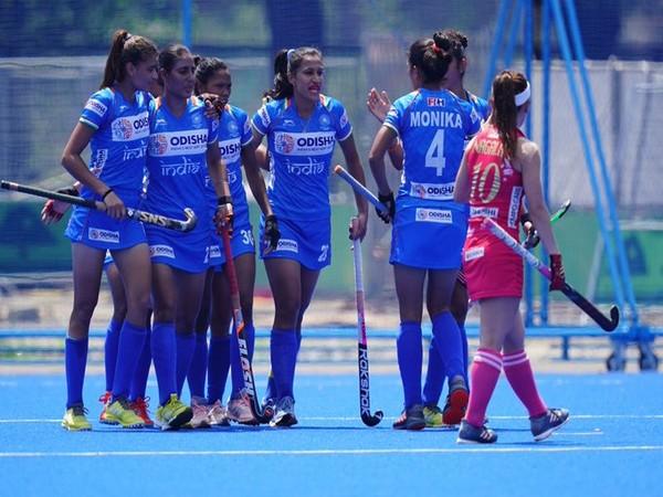 Indian women's hockey team defeated host Japan by 2-1. (Photo/Hockey India Twitter)