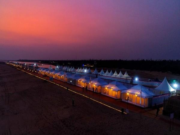 Odisha's first-ever Marine Drive Eco-Retreat begins on Saturday. (Photo/ANI)