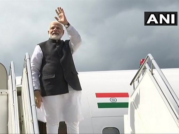 Prime Minister Narendra Modi leaves for Delhi from Paro International Airport on Sunday after concluding a two-day visit to Bhutan (Photo/ANI)