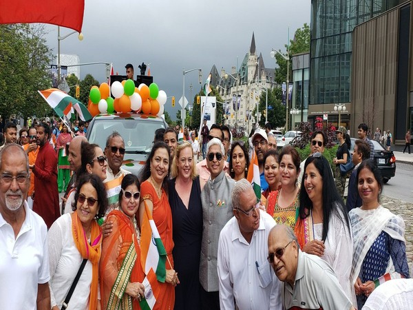 Independence Day celebration in Ottawa, Canada (Photo: Vikas Swarup Twitter)