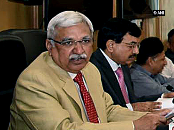 Chief Election Commissioner Sunil Arora addressing a press conference in New Delhi on Saturday. Photo/ANI