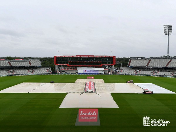 Day-four play abandoned at Old Trafford (Photo/England Cricket Twitter)