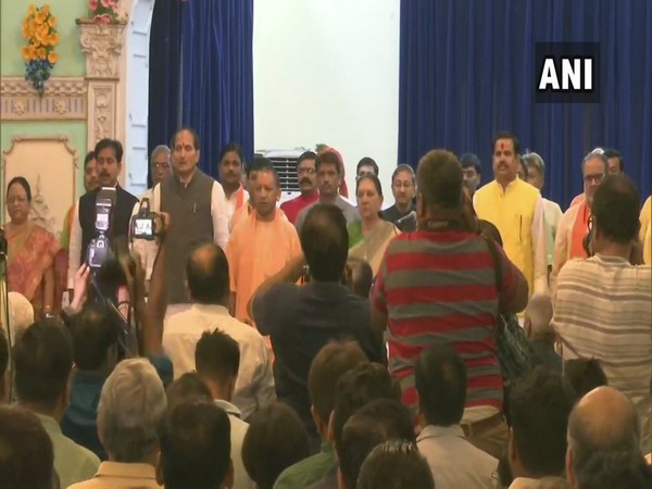 23 MLAs take oath as ministers in Uttar Pradesh government [Photo/ANI]