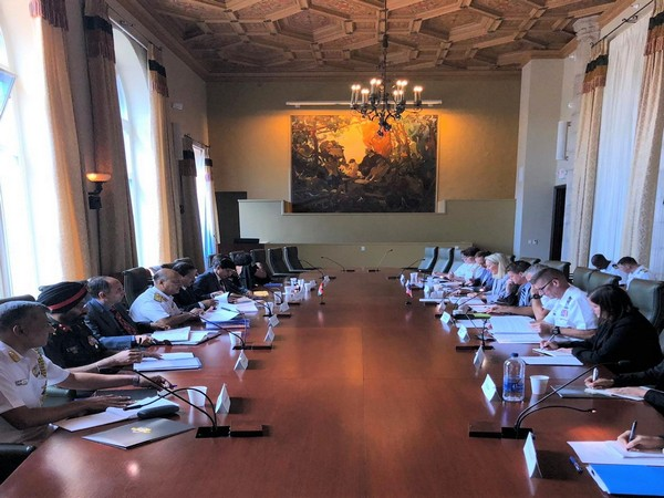 The two sides reviewed the progress and development of bilateral relations in cross-cutting defence, security, and foreign policy areas since the inaugural 2+2 Ministerial meeting of September 2018.