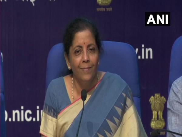 Union Finance Minister Nirmala Sitharaman. [File Photo/ANI]