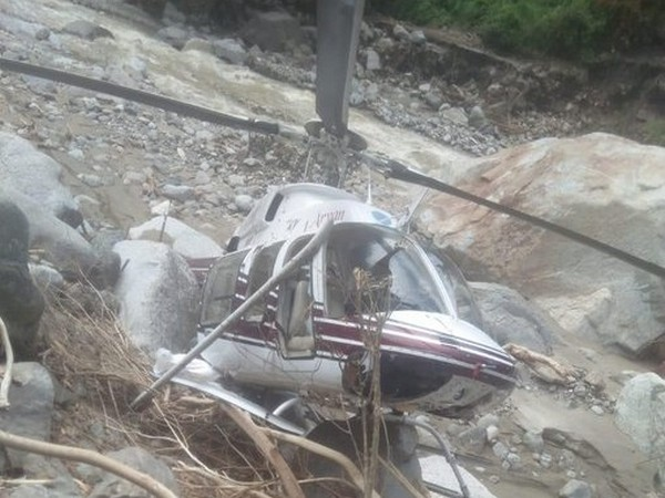 Two helicopters carrying flood relief materials have crashed in Uttarkashi in the last 4 days. (File photo)