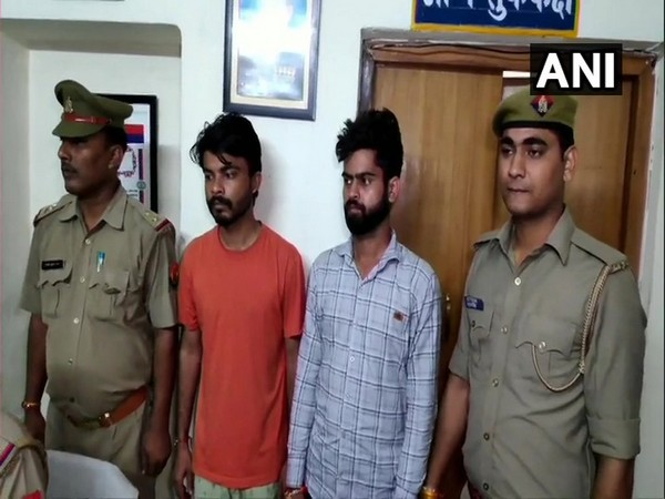 The two were taken into custody after a railway employee filed a complaint against them on Tuesday.