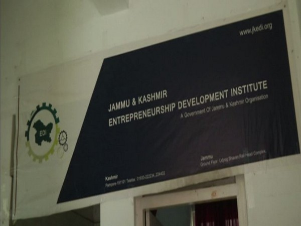 JKEDI has helped provide self employment opportunities to large number of unemployed youths. Photo/ANI