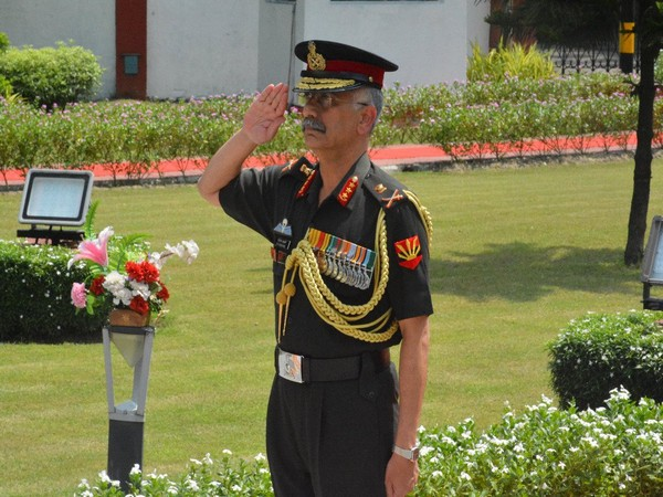 Lt Gen MM Naravane relinquished the command of Eastern Command on Saturday. (Photo tweeted by Eastern Command)