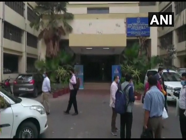 ED conducted raids in various location of West Bengal including Kolkata's Princep Street. (Photo/ANI)