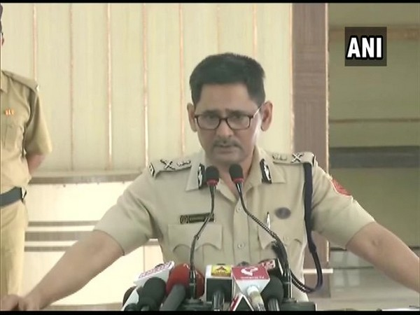 Additional Director General of Police Gyanwant Singh speaking to media in Kolkata on Monday.
