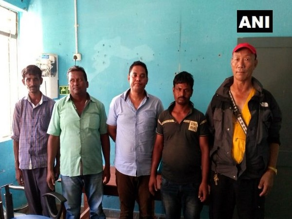 Border Out Post (BOP) team on Monday arrested five persons at Panitanki check post.