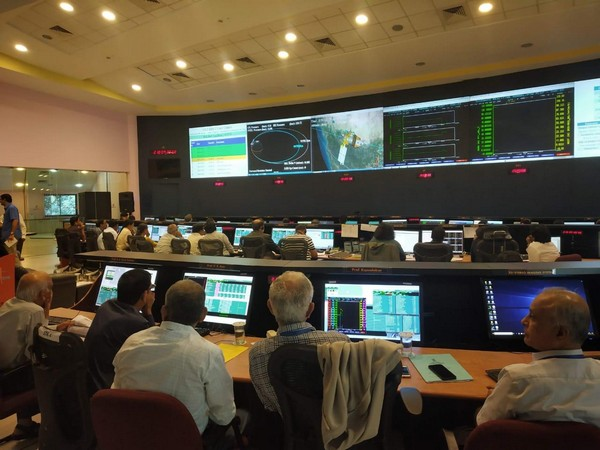 A view of ISRO Telemetry, Tracking and Command Network control centre in Bengaluru. (Picture courtesy-ISRO)