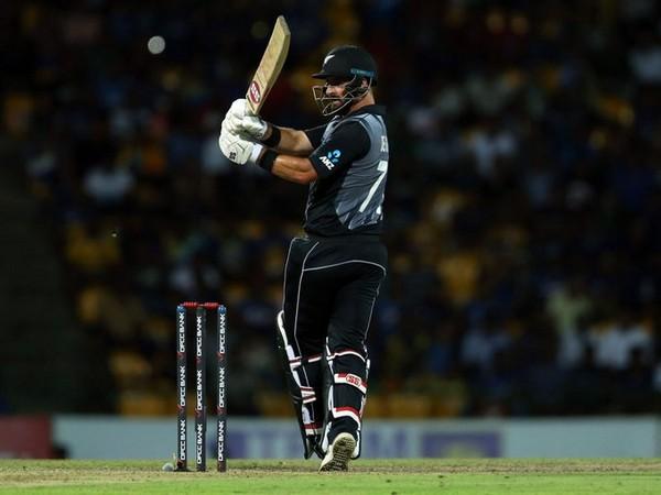 Kiwi batsman Colin de Grandhomme in action against New Zealand