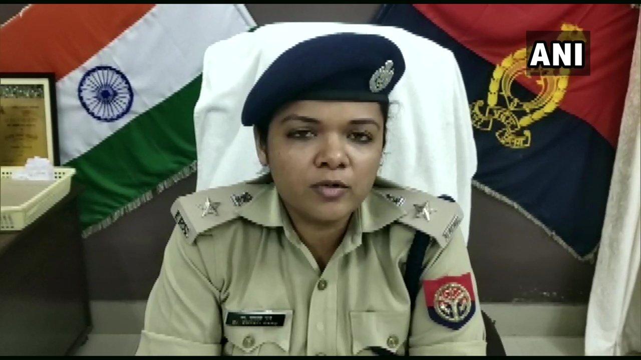Superintendent of Police Khyati Garg. Photo/ANI