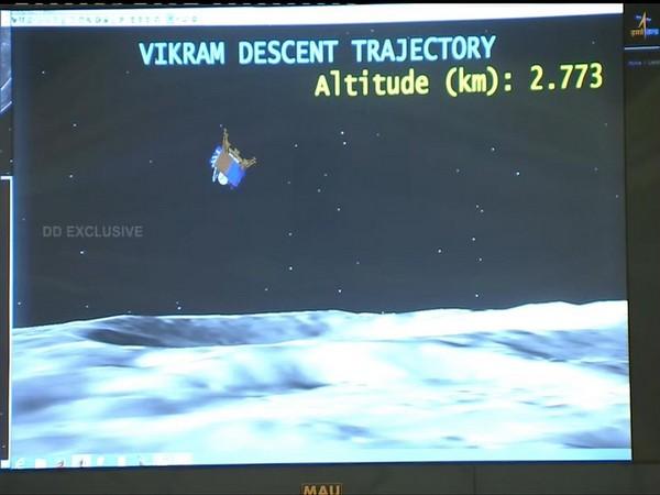 Chandrayaan 2: Rough breaking of Vikram lander ends, fine breaking phase starts
