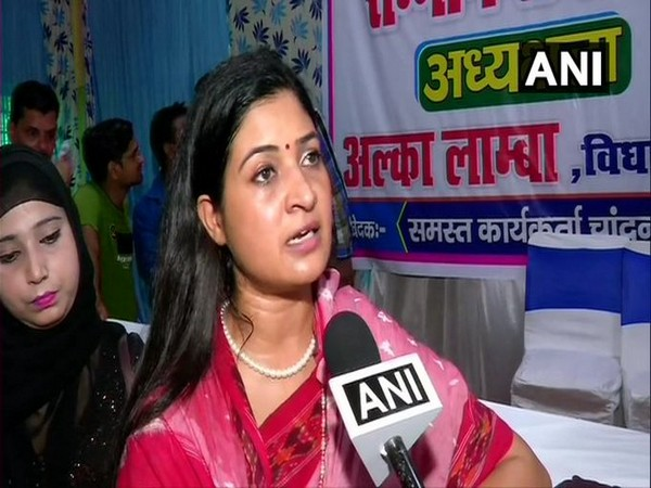 Alka Lamba was representing Chandni Chowk Assembly seat in Delhi Assembly.