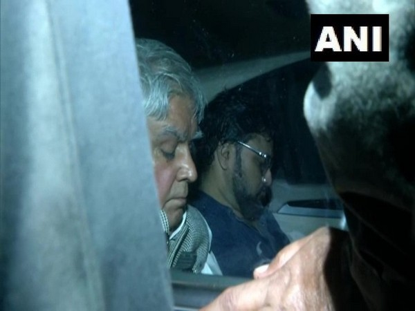 West Bengal Governor Jagdeep Dhankhar took Union Minister Babul Supriyo out of Jadavpur University in his car on Thursday night. Photo/ANI