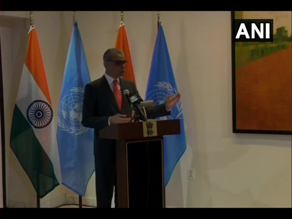 India's Permanent Representative to the United Nations, Syed Akbaruddin.