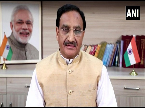 Union Education Minister Ramesh Pokhriyal (File Photo/ANI)