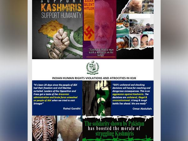 A leaked document, reportedly the Pakistani dossier to be presented by them at United Nations Human Rights Council (UNHRC) today, circulating in Pak media circles.