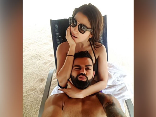 Virat Kohli with Anushka Sharma (Photo/ Virat Kohli Twitter)