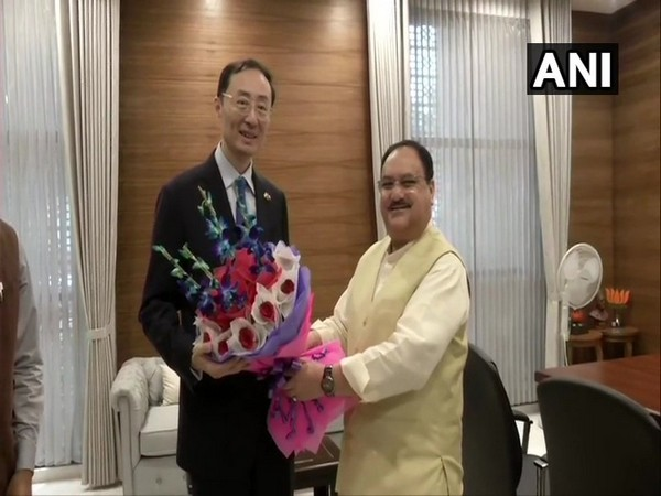 Chinese Ambassador to India, Sun Weidong met Bharatiya Janata Party Working President, JP Nadda in Delhi today.