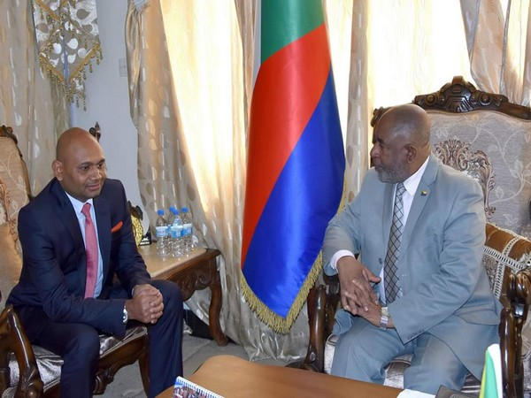 Ambassador Abhay Kumar met with President of Comoros Azali Assoumani on Thursday.