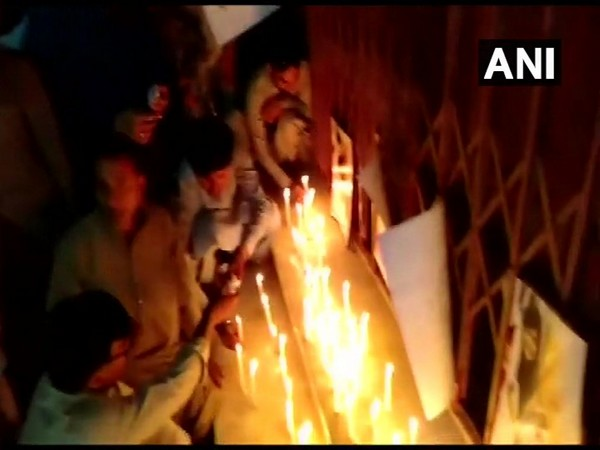 Pakistan: Members of Hindu community staged protest in Karachi against the murder of a Sindhi Hindu girl. Photo/ANI