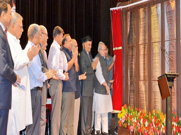 Governor Satya Pal Malik and Union Minister of State for Power RK Singh jointly inaugurated several power projects in Srinagar on Wednesday. (Photo/Twitter@diprjk)