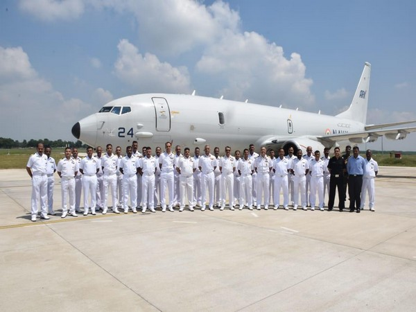 Navy Vice Chief Vice Admiral G Ashok Kumar reviewed the operations of the P-8I aircraft.