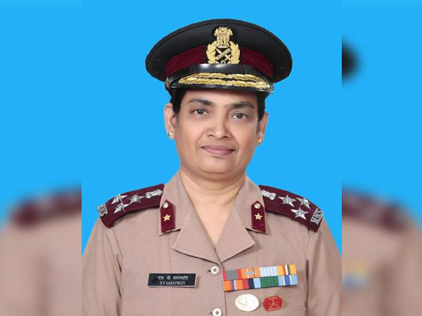 Brigadier S V Saraswati. (Photo/ANI)