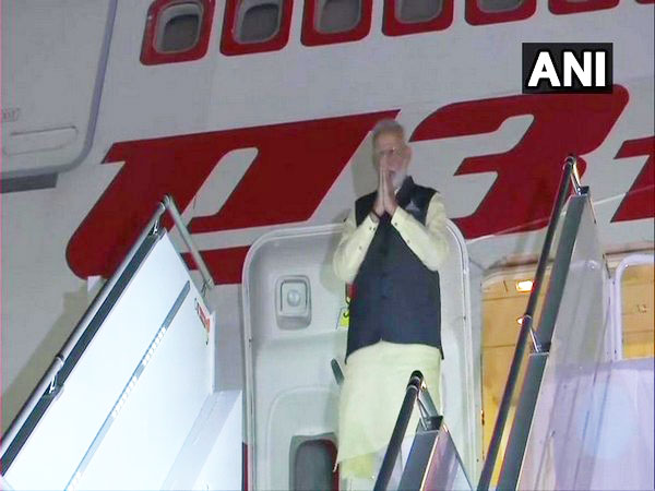Prime Minister Narendra Modi arrived in New York on Sunday (local time). Photo/ANI.
