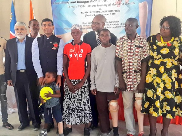 Indian Mission organises healthcare camp in Namibia (Picture Credits: India in Namibia/Twitter)