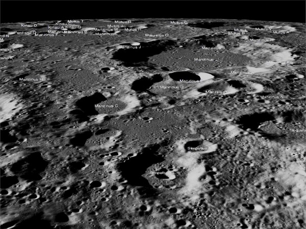 Images of the lunar surface where Chandrayaan-2's Vikram lander was scheduled to make a soft landing. (Picture courtesy: NASA)