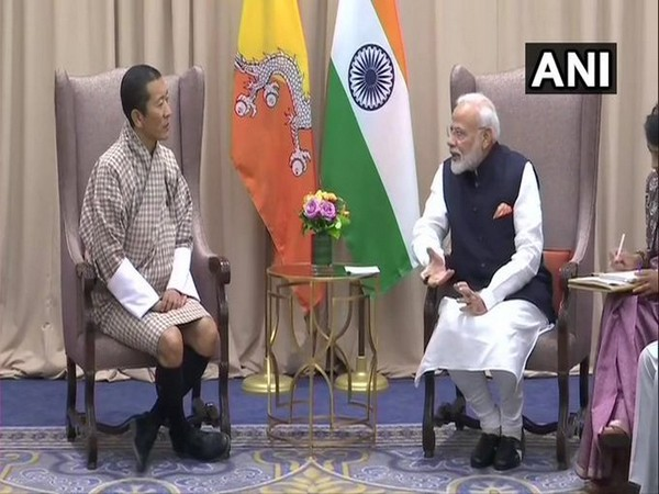 Prime Minister Narendra Modi and Bhutanese counterpart Lotay Tshering