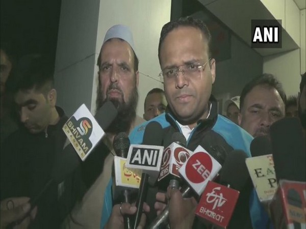 District Development Commissioner Sagar Dattatray Doifode talking to reporters on Sunday. Photo/ANI