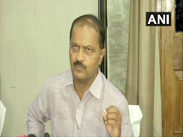 Bihar Chief Secretary Deepak Kumar addressing a press conference on Monday in Patna. Photo/ANI