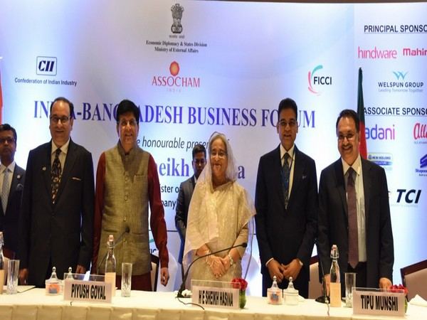 India-Bangladesh Business Forum was held on Friday. (Photo tweeted by MEA Spokesperson)