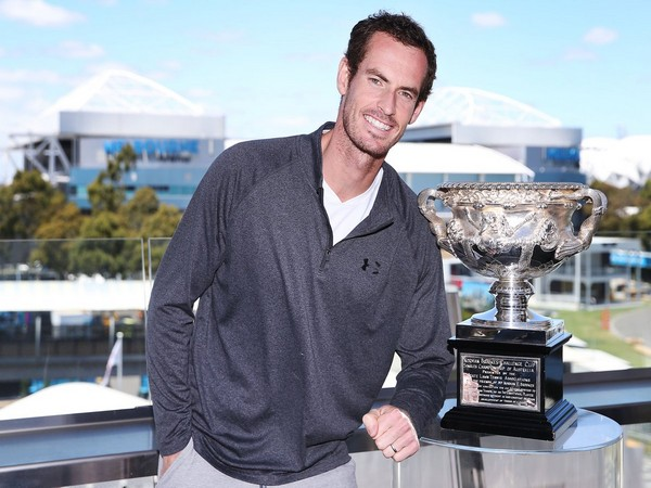 UK's tennis player Andy Murray (Photo/ Australian Open Twitter)