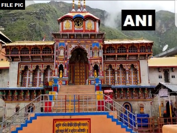 Badrinath shrine [File Photo/ANI]