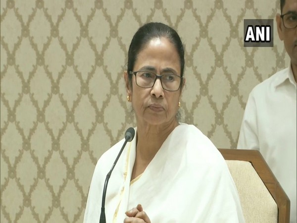 West Bengal Chief Minister Mamata Banerjee addressing a press conference in Kolkata on Wednesday (Photo/ANI)