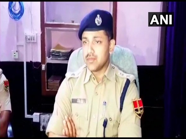 Superintendent of Police (SP) Paris Deshmukh talking to reporters on Wednesday. Photo/ANI