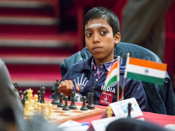 Chess player R Praggnanandhaa (Photo/ Chess.com India Twitter)