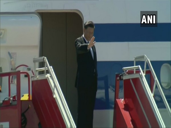 Chinese President Xi Jinping emplanes for Nepal